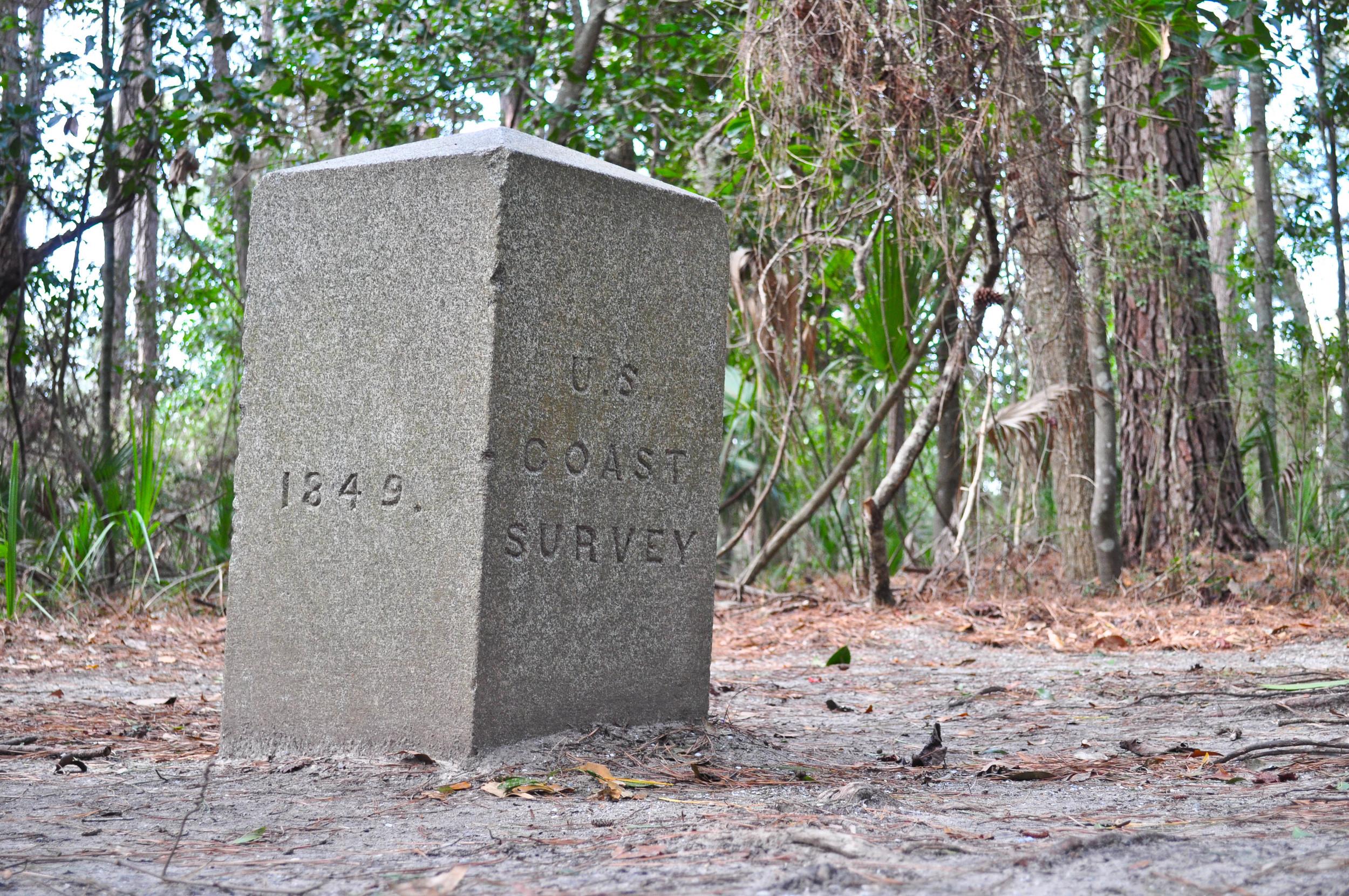 Bache Maker. Reads 1849, U.S. Coast Survery