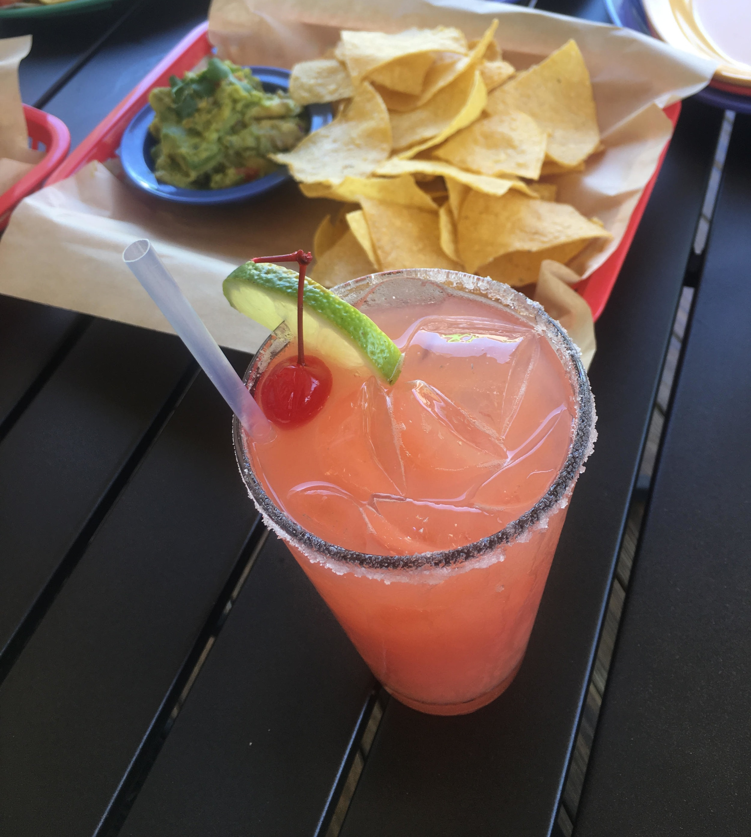 Not a salad, but it is one beautiful margarita from E&o Taco