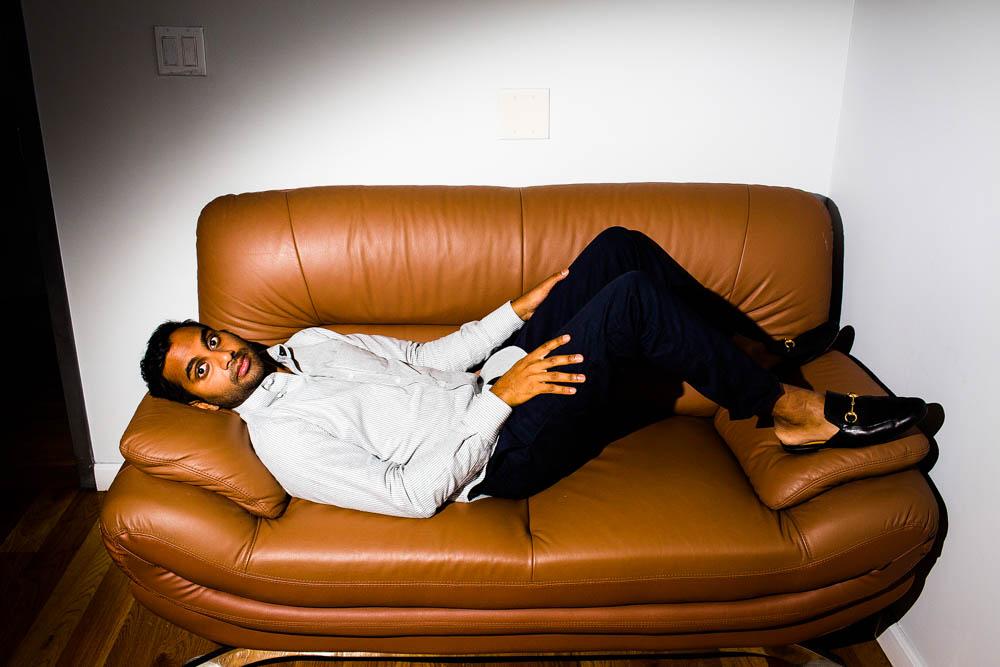 August 2 -  Communication Arts:    Awards Landon's portrait of Aziz Ansari for Smithsonian Magazine