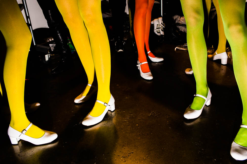 June 27 - New York Magazine,  The Cut:    See Landon Nordeman's Surreal Spin on the Fashion Week Fun House