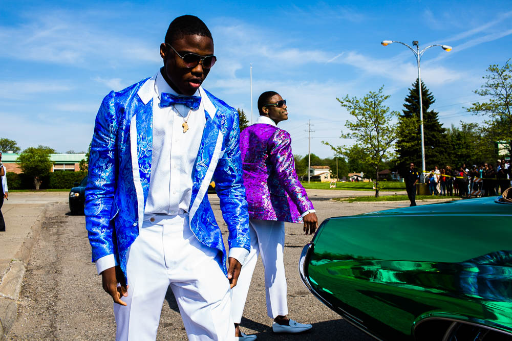 June 21 -  The Fence:    Landon's photographs from Prom In Flint selected for The Fence 2017