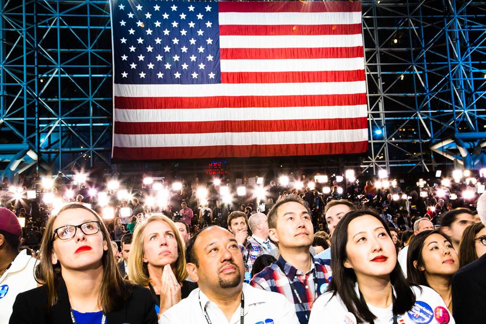 January 17 -  EPIX Original Documentary:    Election Day: Lens Across America