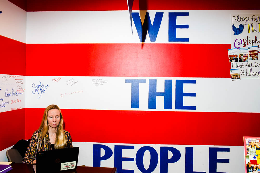 May 26 –  TIME LightBox :   Inside the Quirky Campaign Headquarters of Trump, Clinton and Sanders