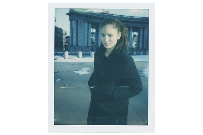 April 12 - Philadelphia Museum of Art   Landon's portrait of artist Rachel Rose in PMoA's exhibition catalog