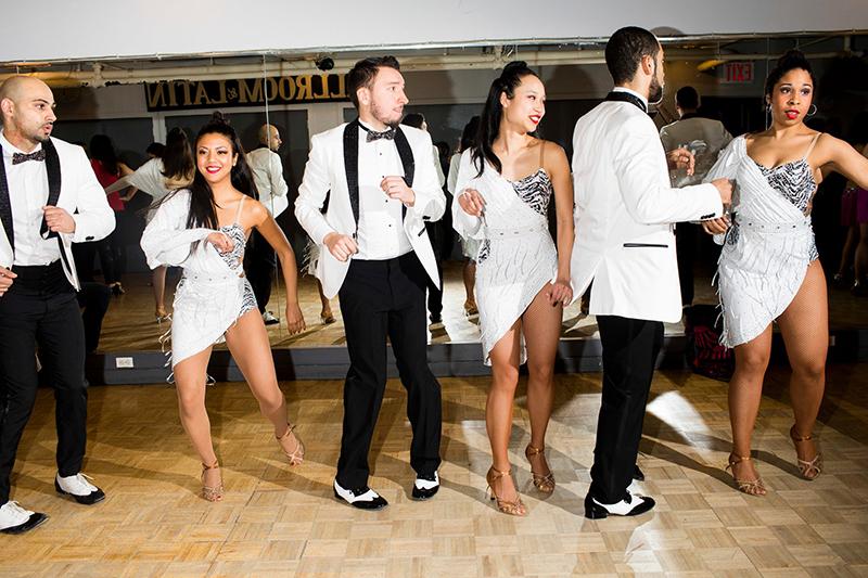 June 14 - New York Times   Landon photographs salsa dancers for the NYT