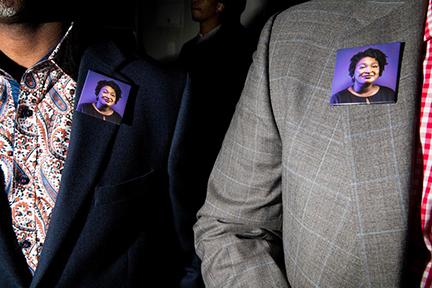 November 6 - The New Yorker   Landon photographs election night in Atlanta