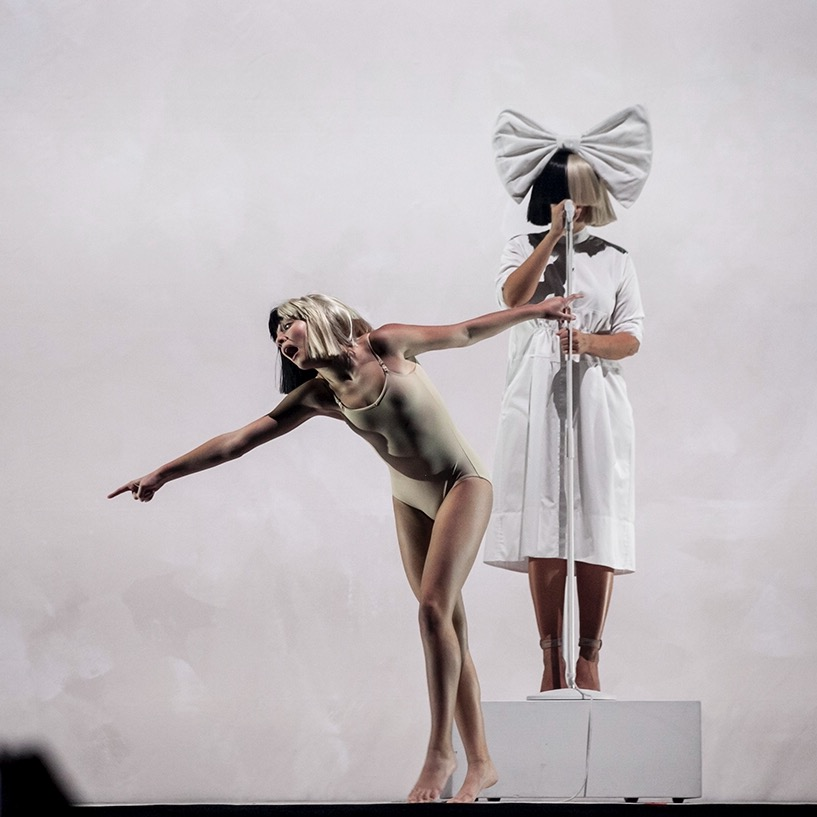 Sia & Maddie Ziegler @ The Palace of Auburn Hills