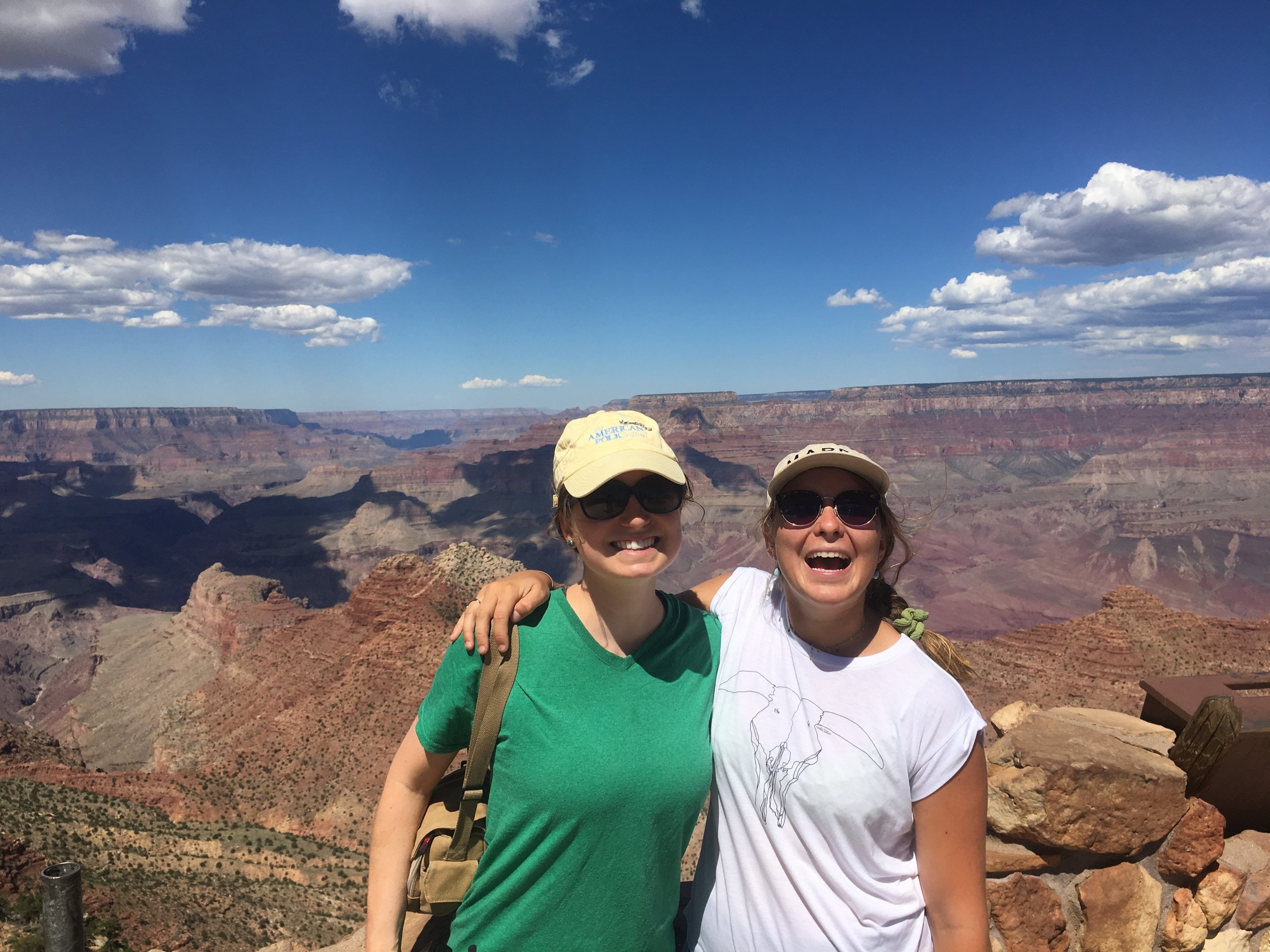 The grandest of canyons with the greatest friend!