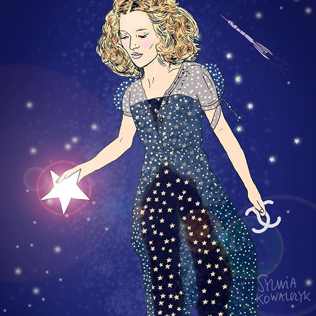 The season of #party #jumpsuits has started. Here is #katemossstyle @katemossagency to show you how to do it. 🤩 🌟⭐️🌟⭐️🌟⭐️🌟💫💫💫#partystyle #editorialillustrations #editorialillustrator #illustratoredinburgh #katemossisboss #chaneljumpsuit #fashionillustrationoftheday #fashionillustrated #chanelillustration