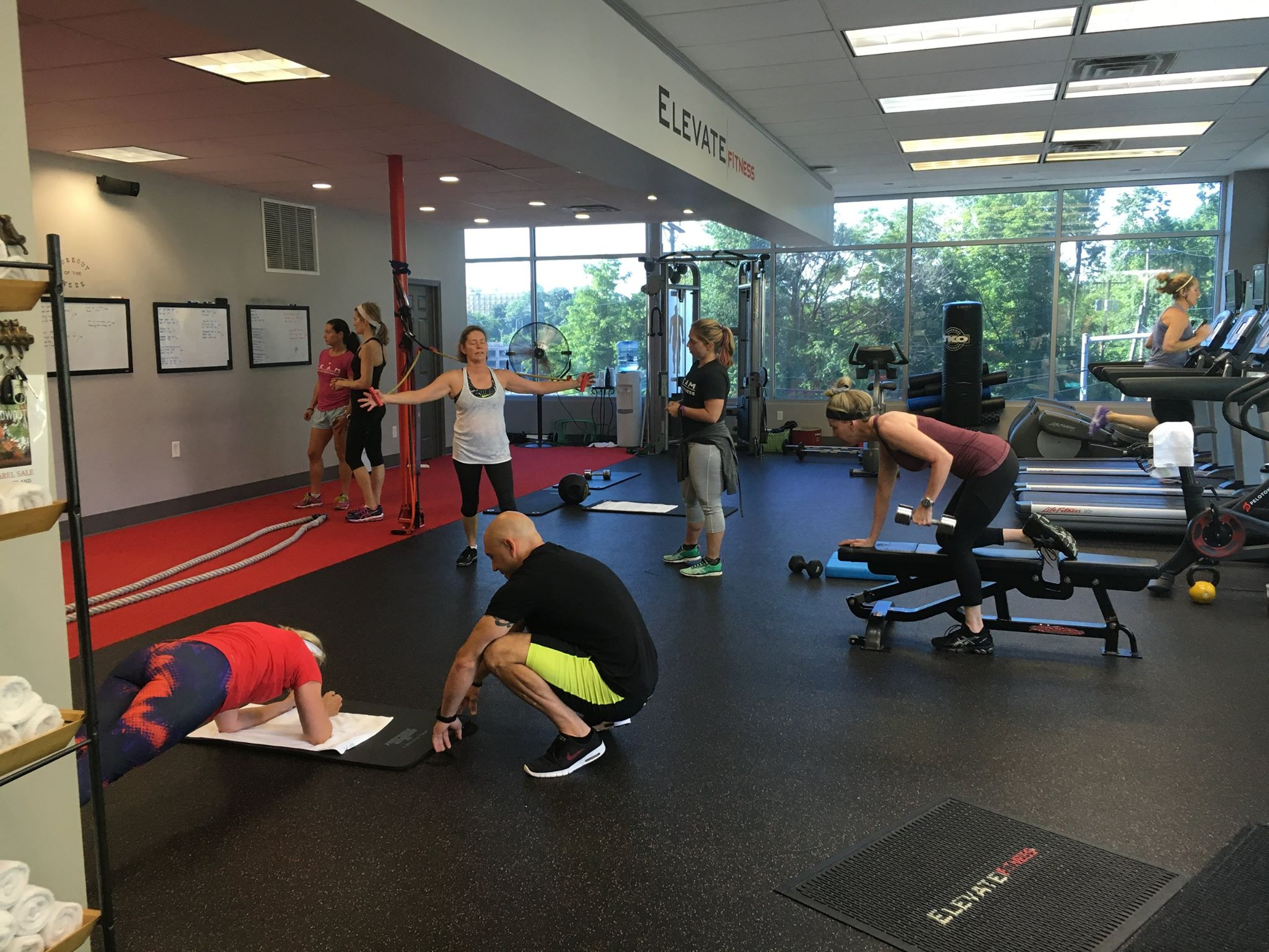 Elevate Fitness Group Workout Morning Routine