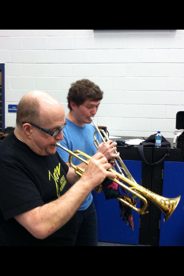 Lew Soloff with Brandon