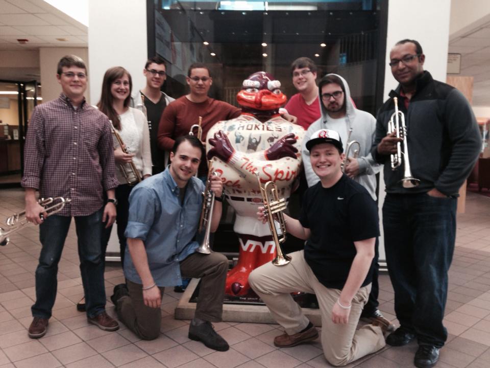 Columbus State University Trumpet Ensemble