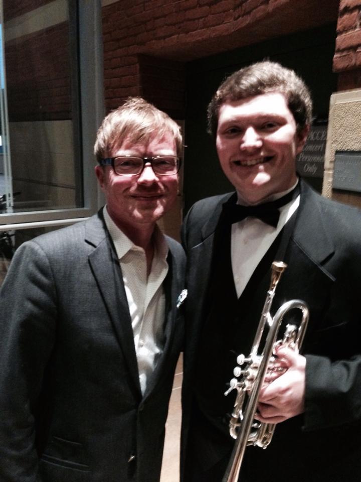 John Mackey (Composer) with Brandon