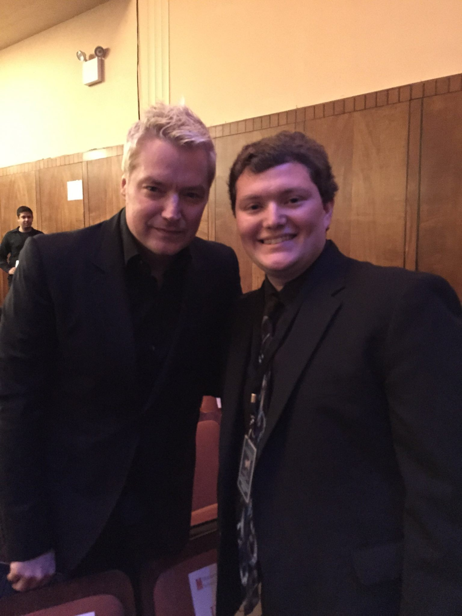 Chris Botti (American trumpeter and composer, and Grammy Award Winner) with Brandon