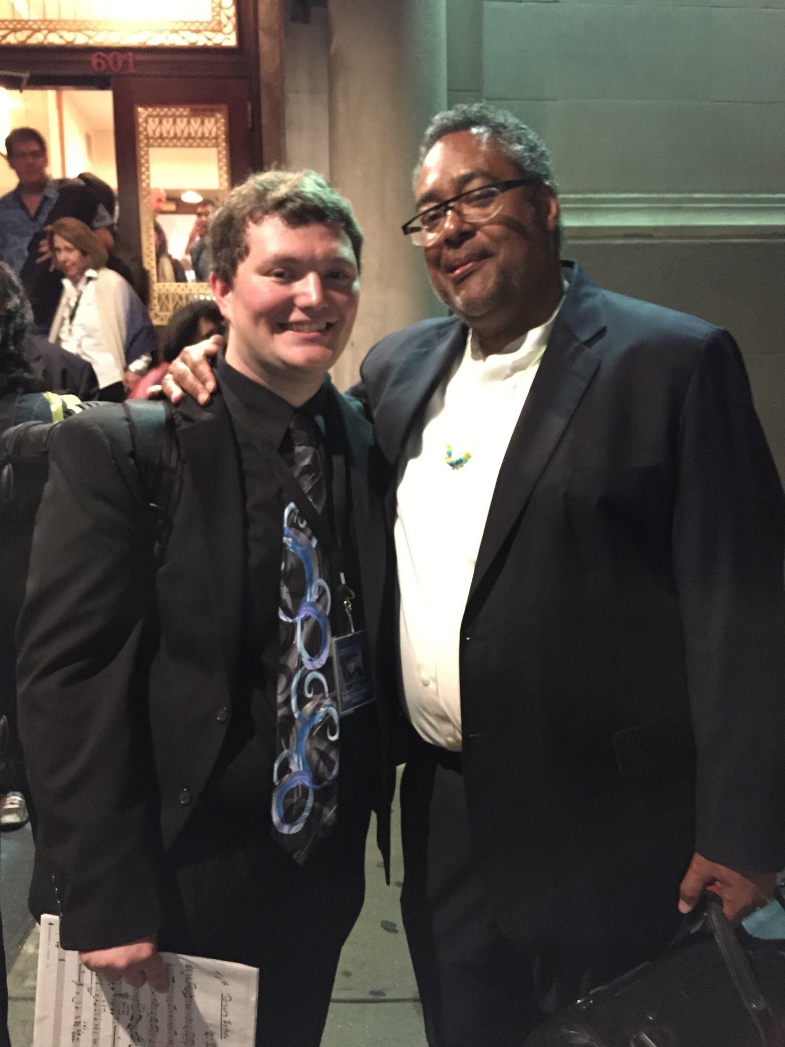 Brandon with Jon Faddis (Carnegie Hall Jazz Band, Thad Jones/Mel Lewis Orchestra)