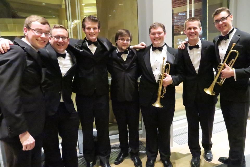 Columbus State University Wind Ensemble Trumpet Section