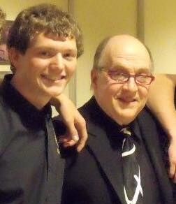 Brandon with Lew Soloff