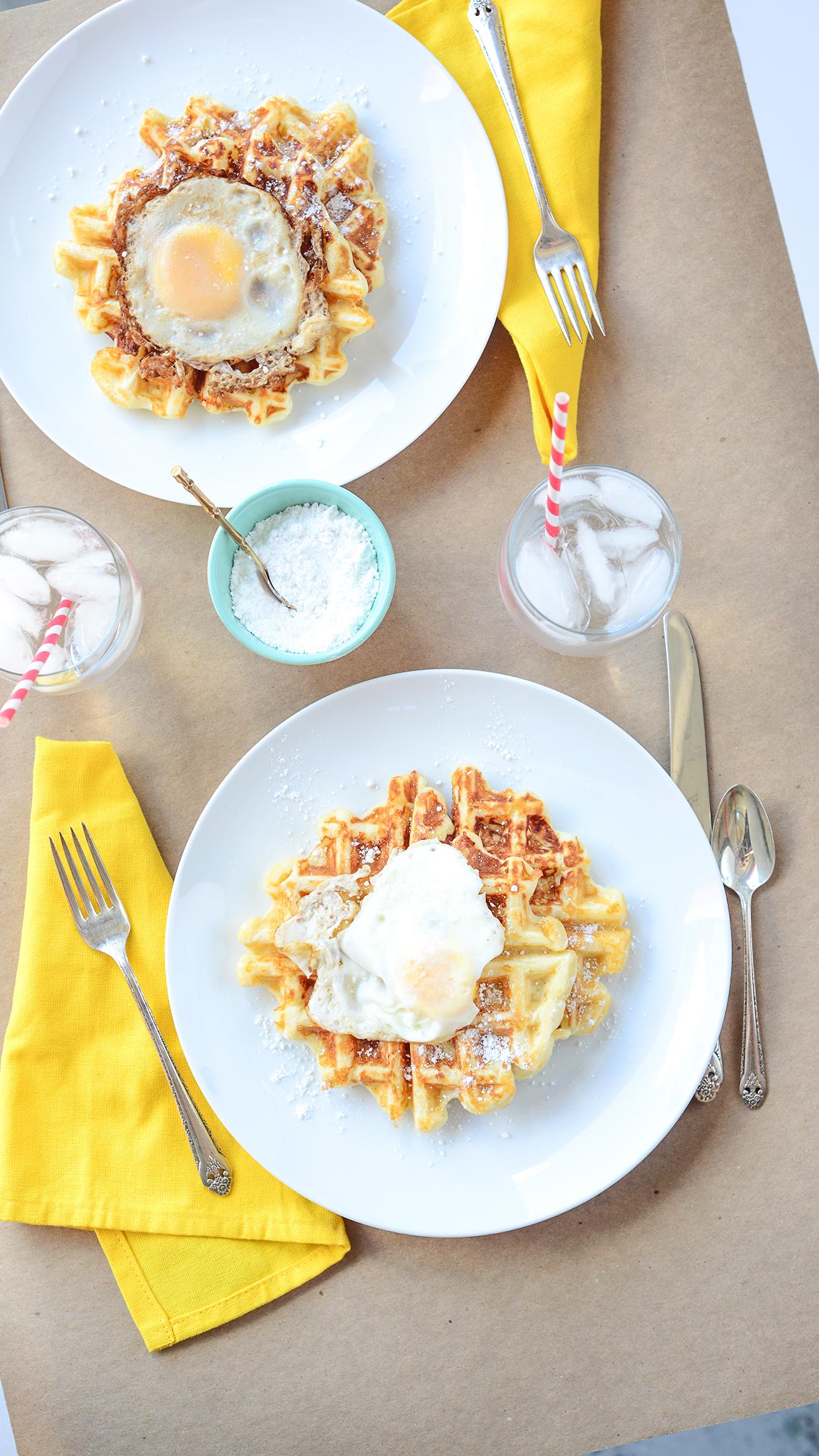 Monte Cristo Waffles