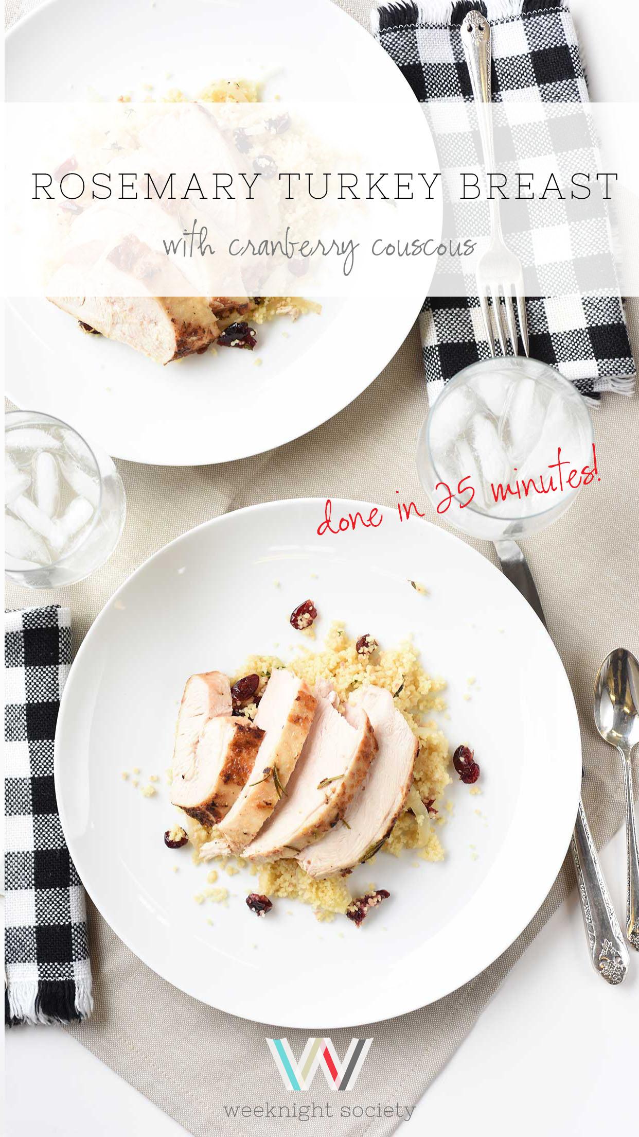 Roasted Rosemary Turkey