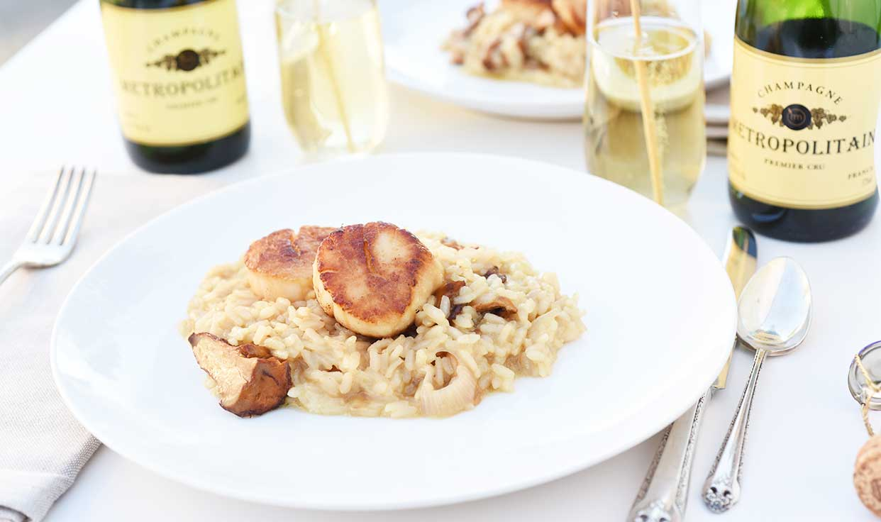 Weeknight Society | Champagne Risotto