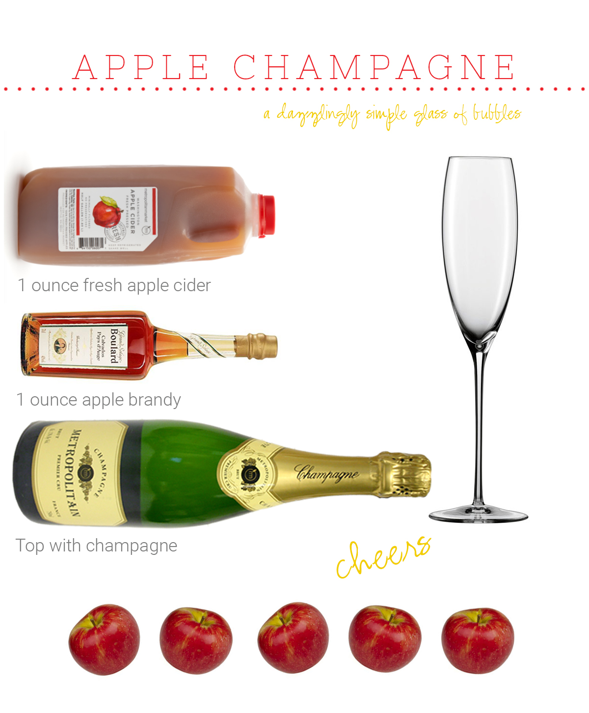 Weeknight Society | Apple Champagne