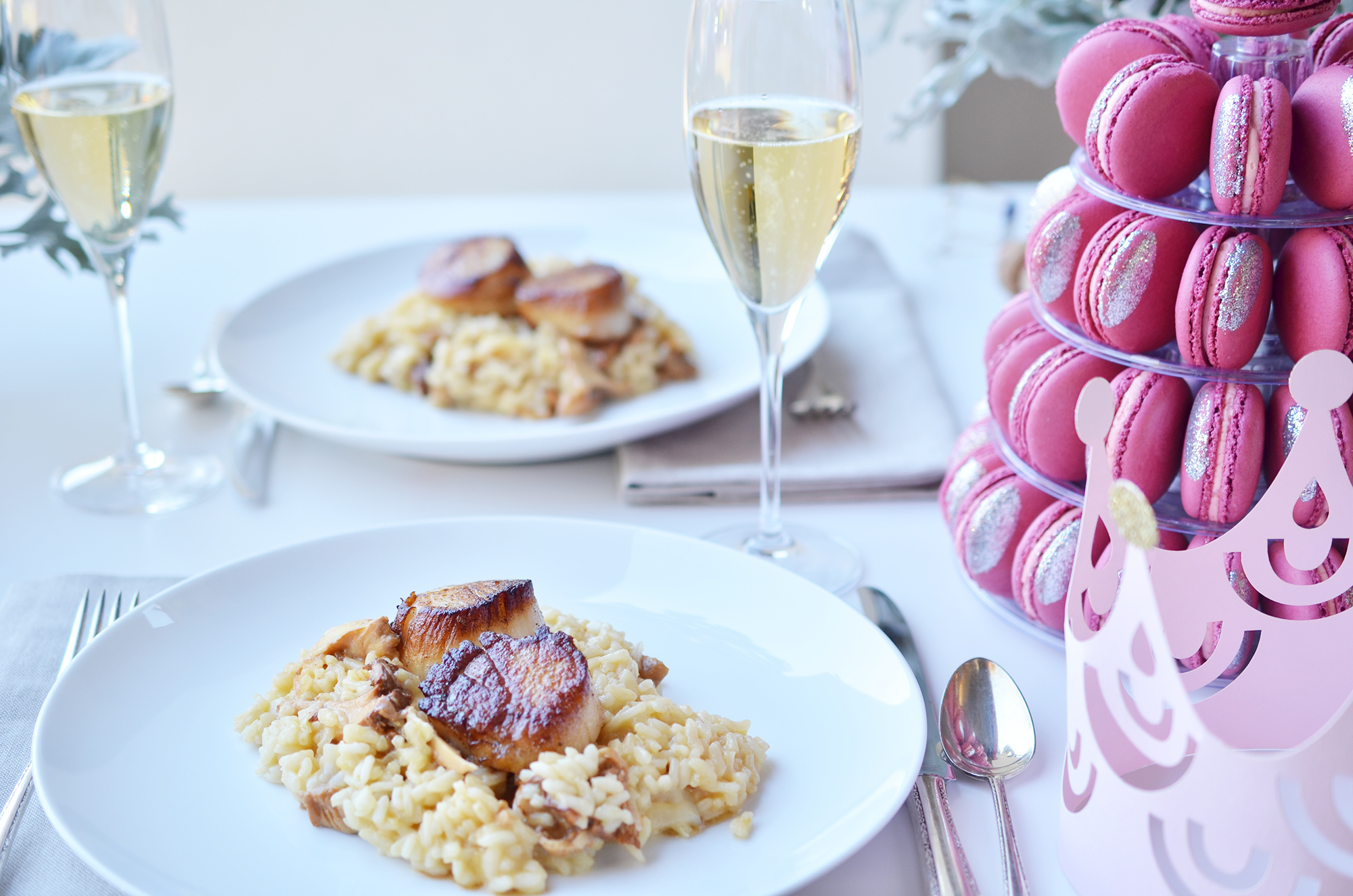 Macrons & Risotto | Weeknight Society
