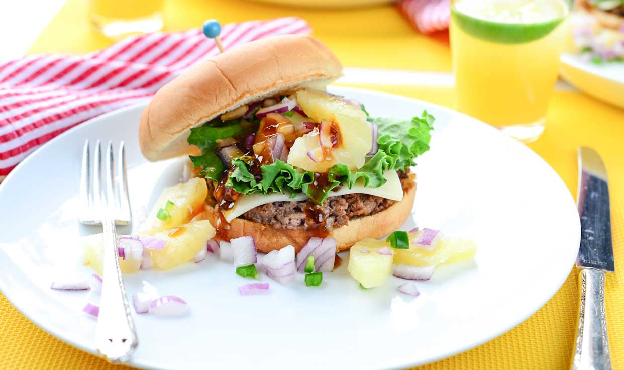 Weeknight Society | Hawaiian Burger