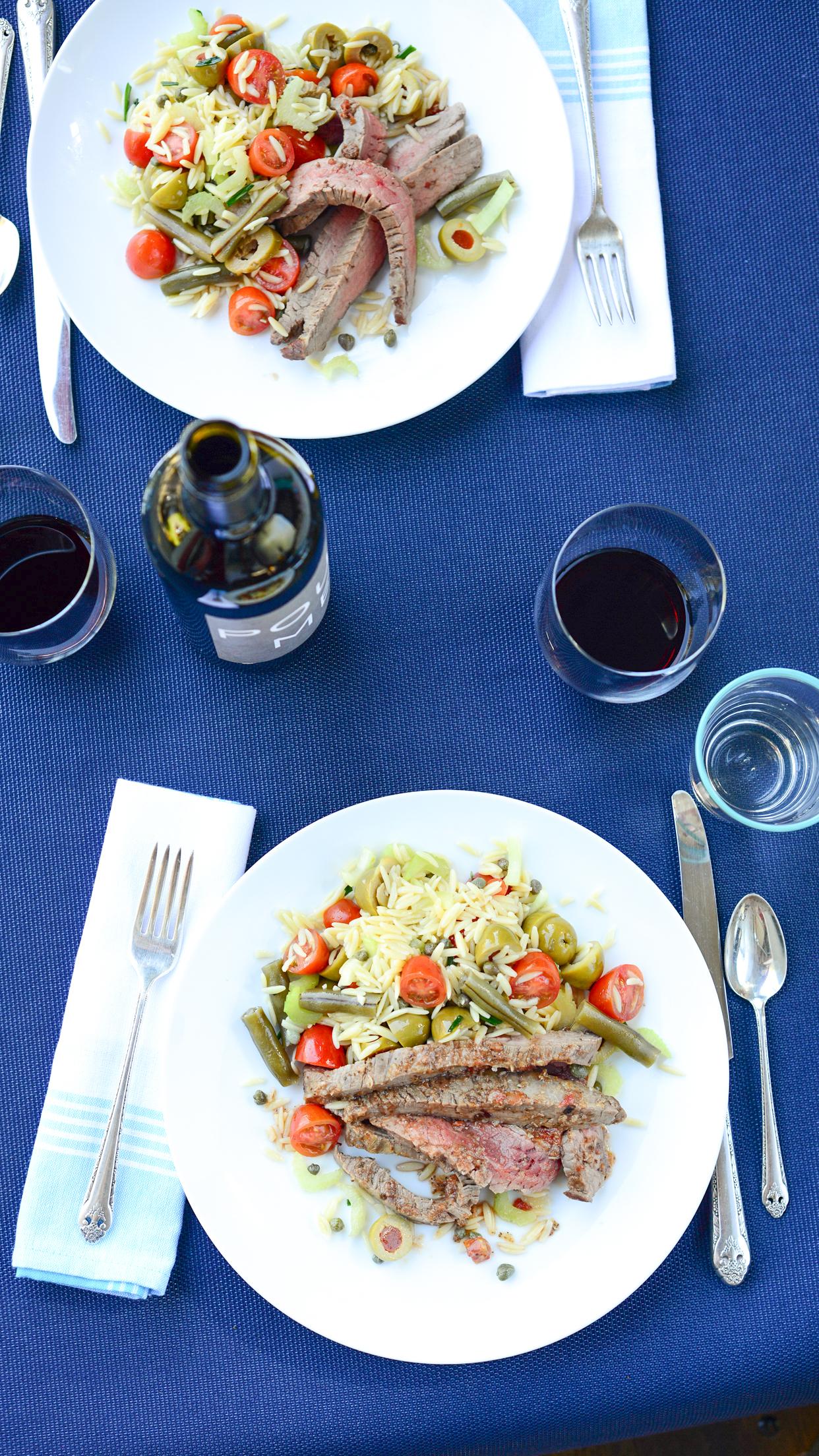 Weeknight Society | Bloody Mary Steak