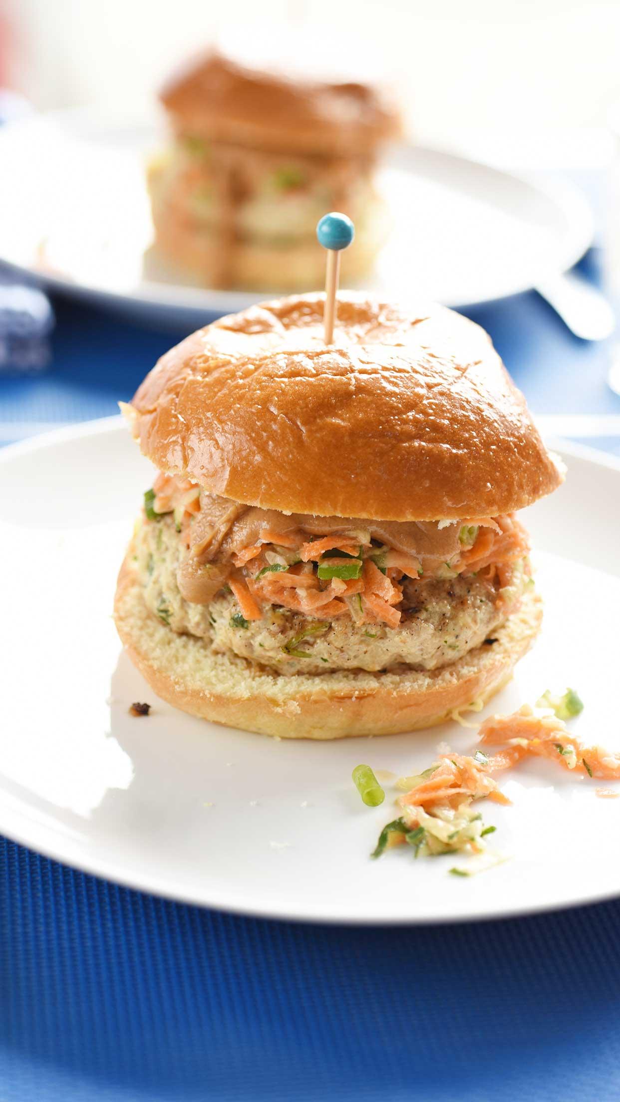 Weeknight Society | Thai Chicken Burger