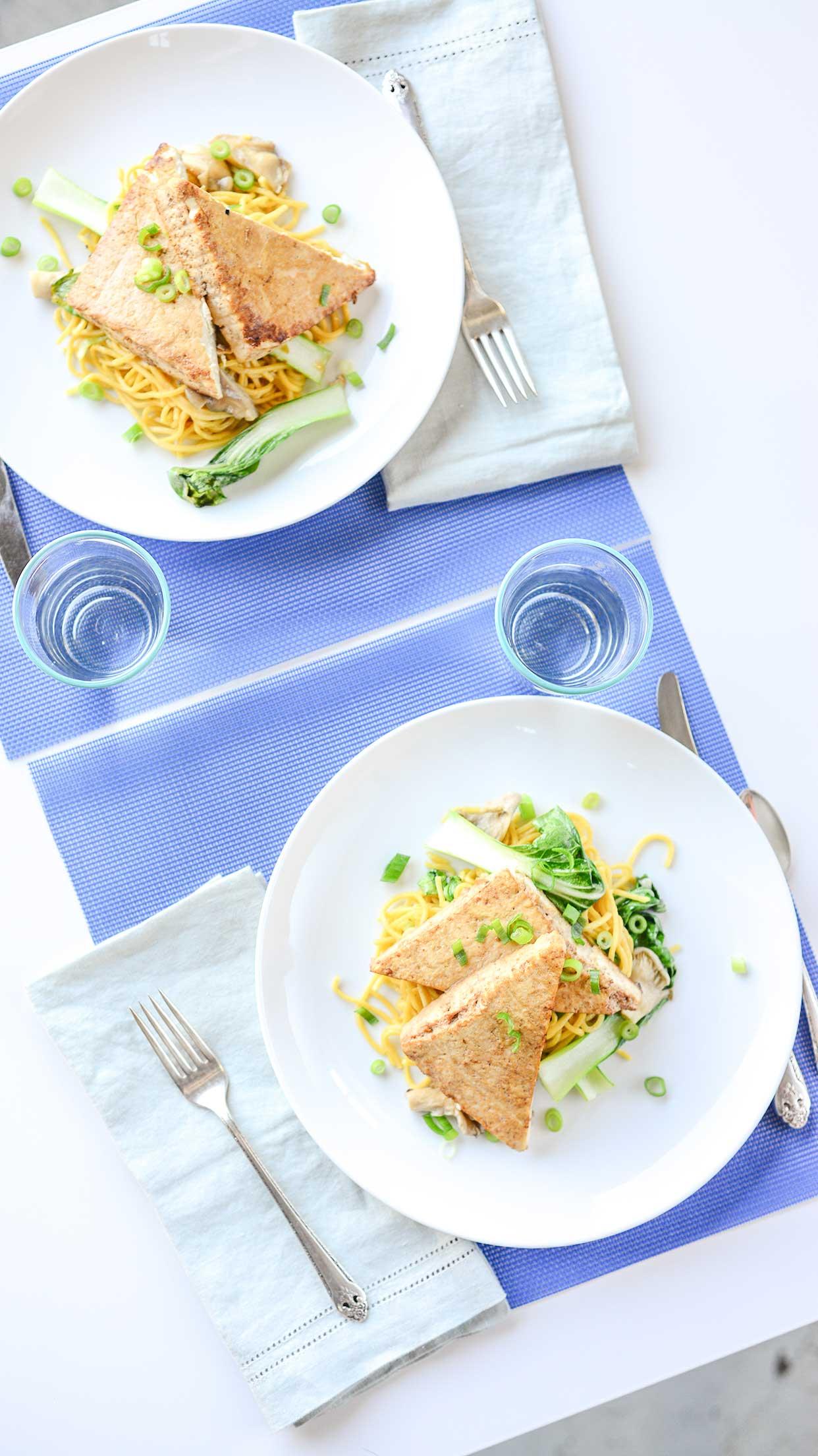 Weeknight Society | Oven Roasted Tofu