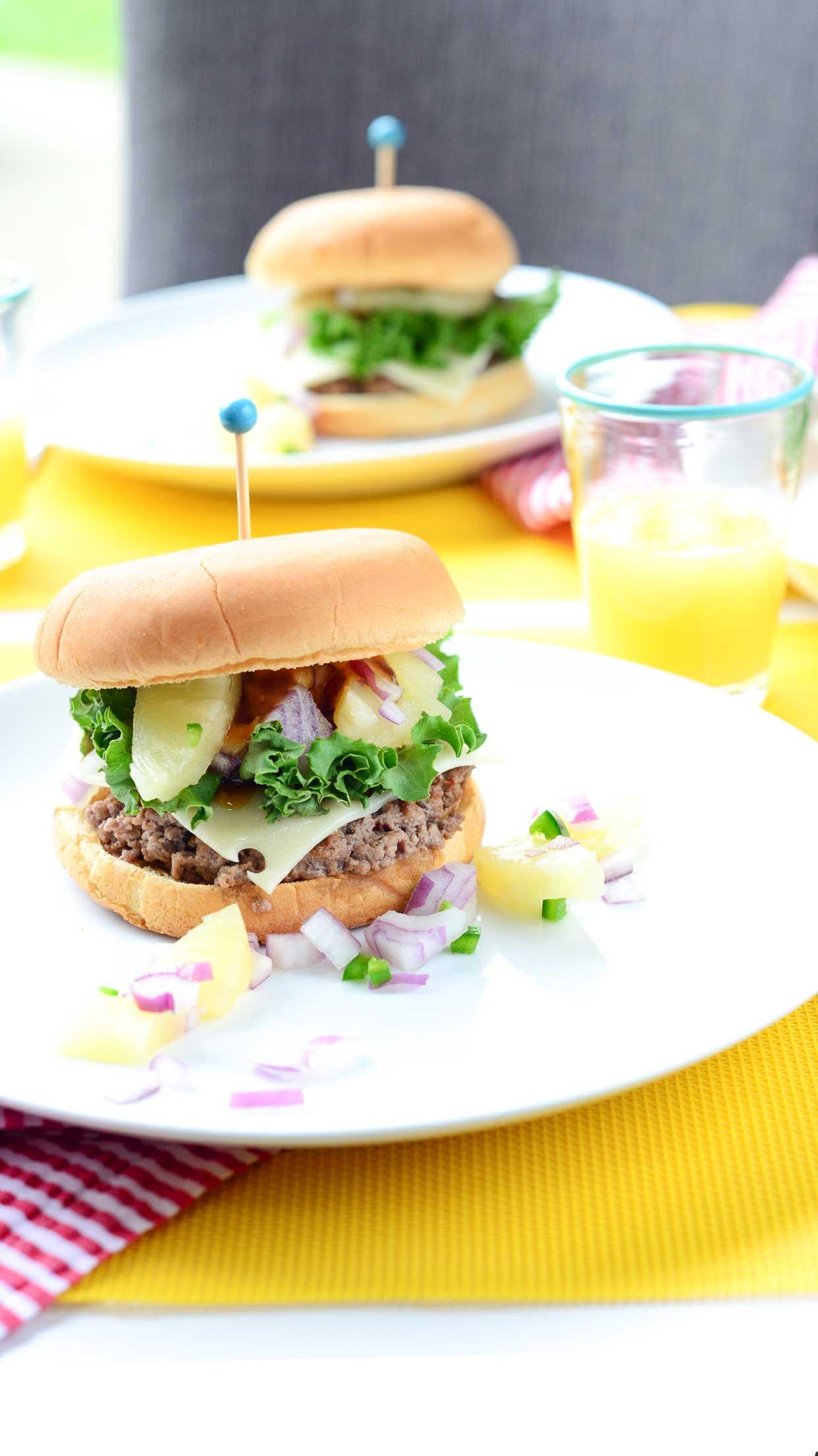 Weeknight Society | Hawaiian Burger
