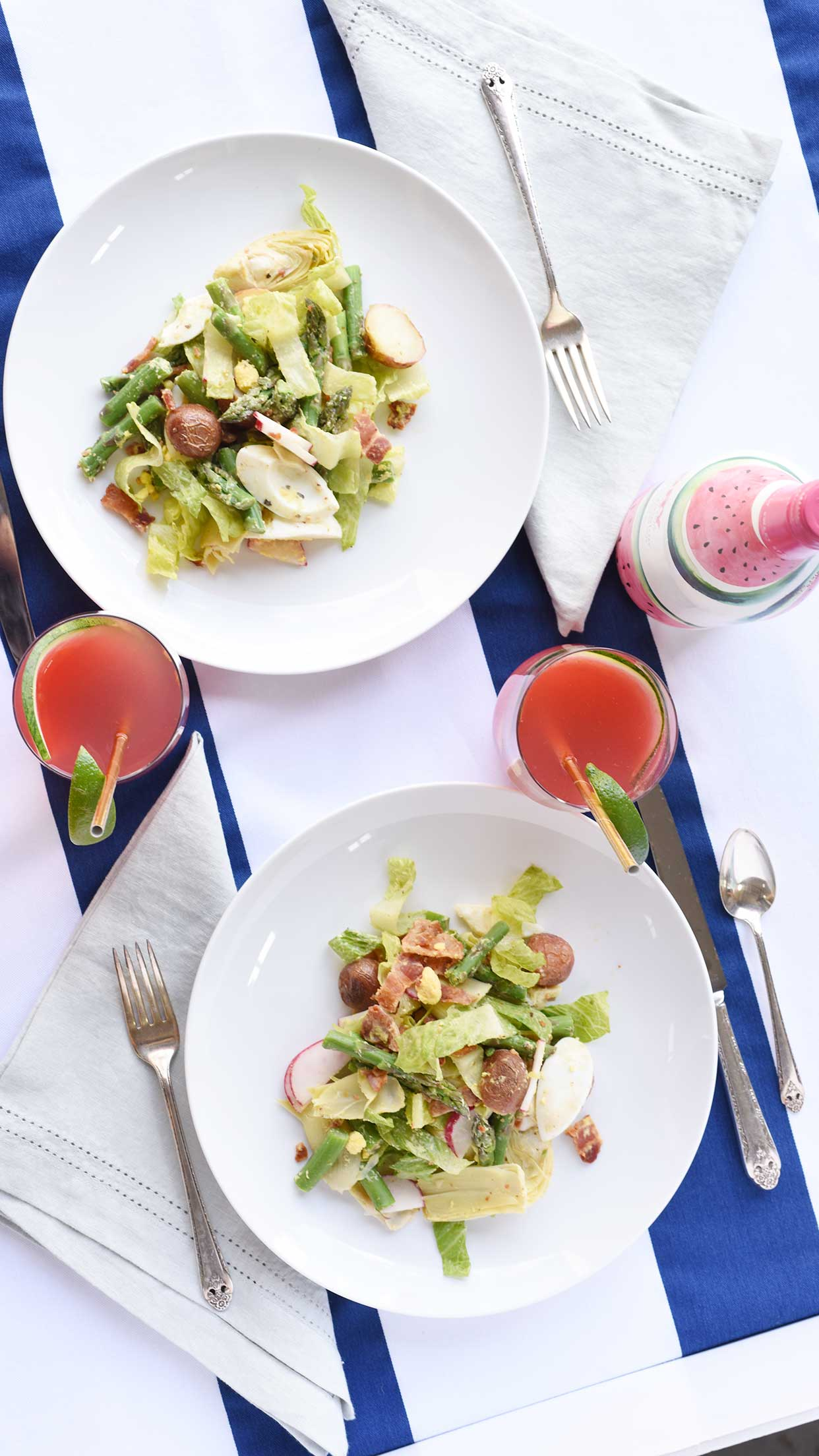 Weeknight Society | Spring Chop Chop Salad
