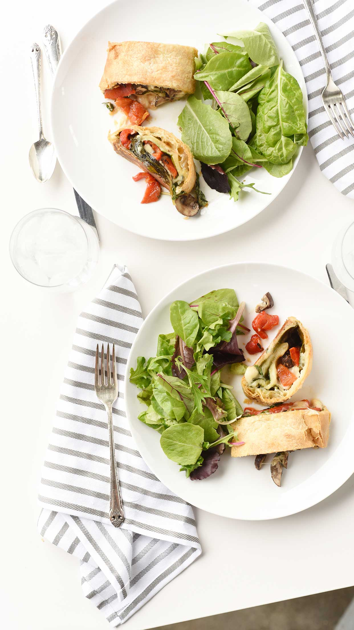 Weeknight Society | Vegetable Stromboli