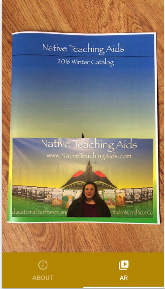 Native Teaching Aids Augmented Reality App