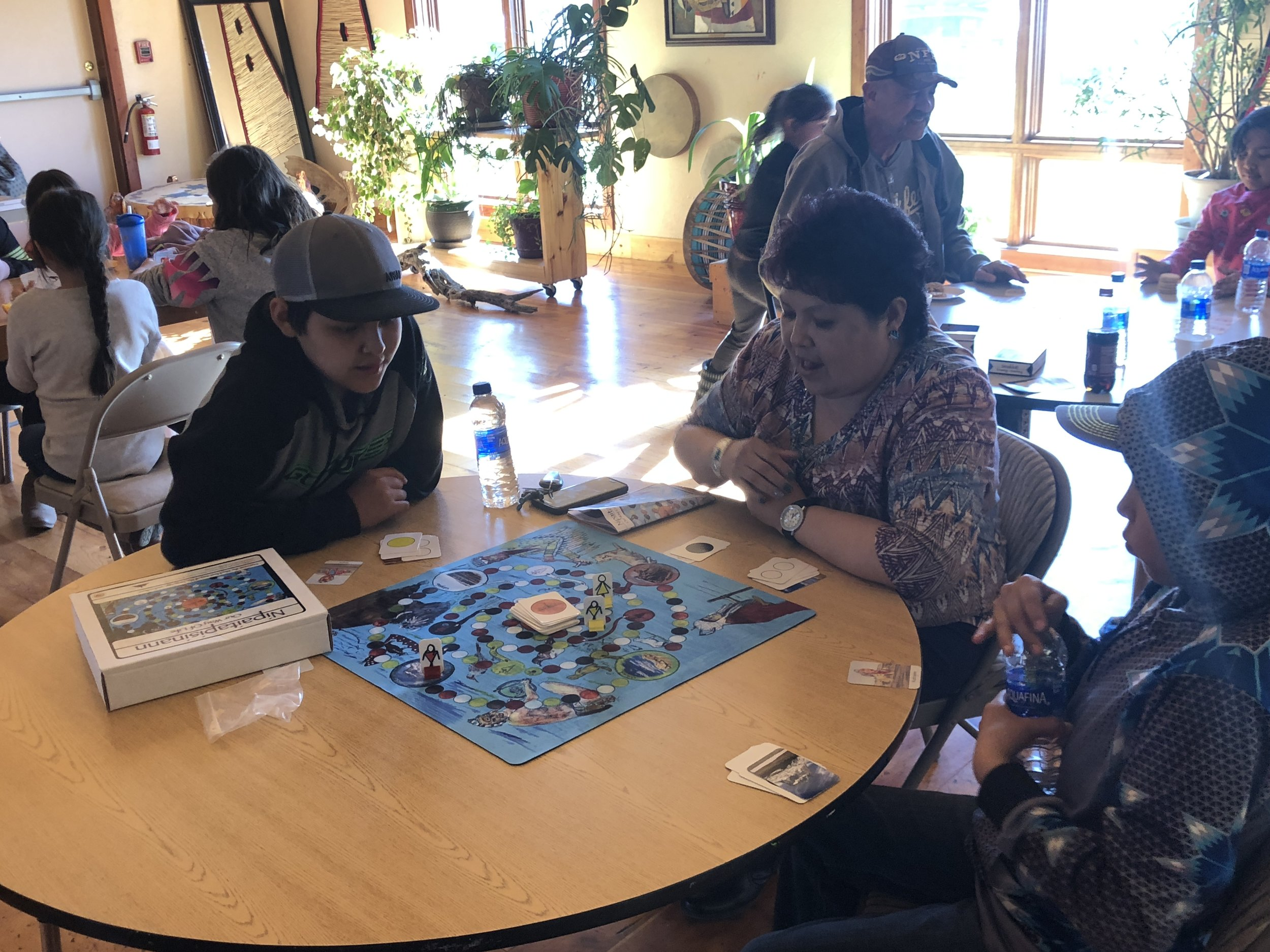 Piegan Institute Game Night, April 24 2019