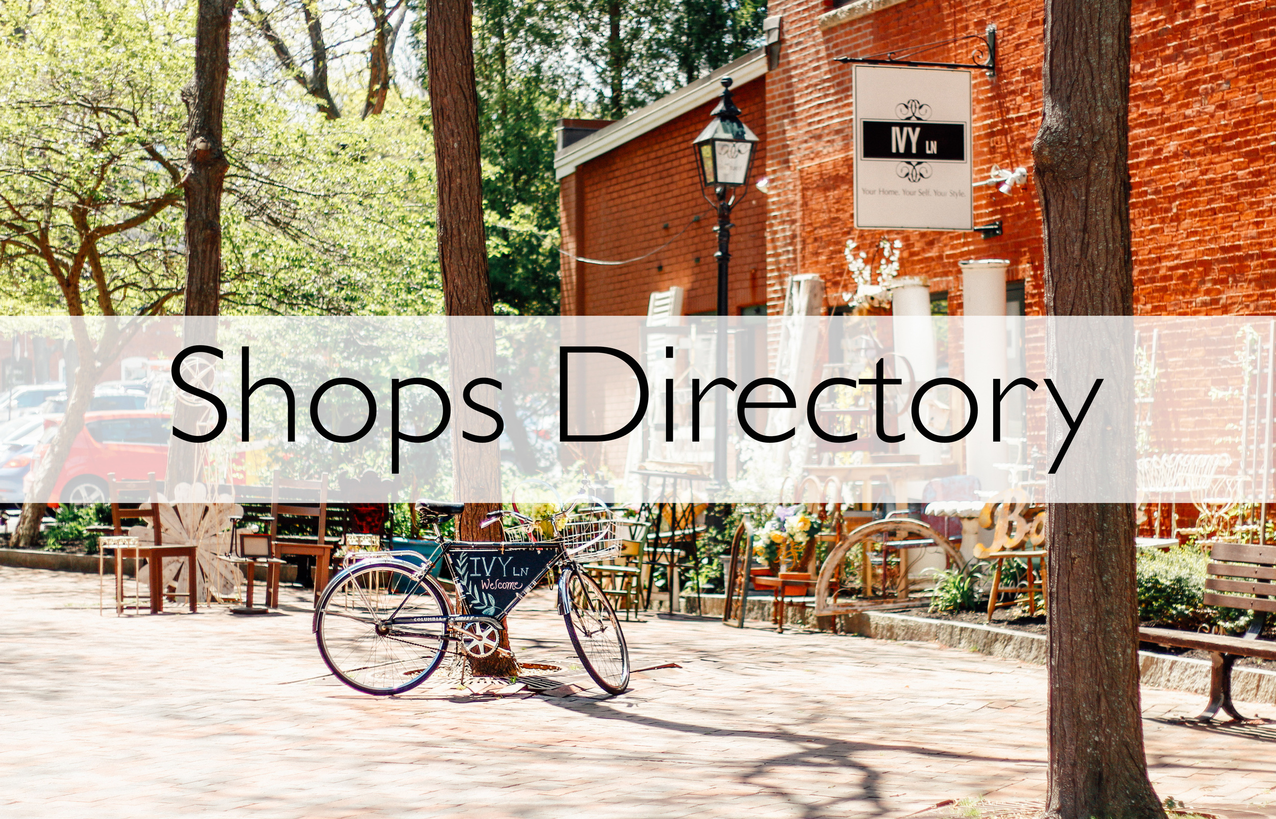 click for our shopping directory