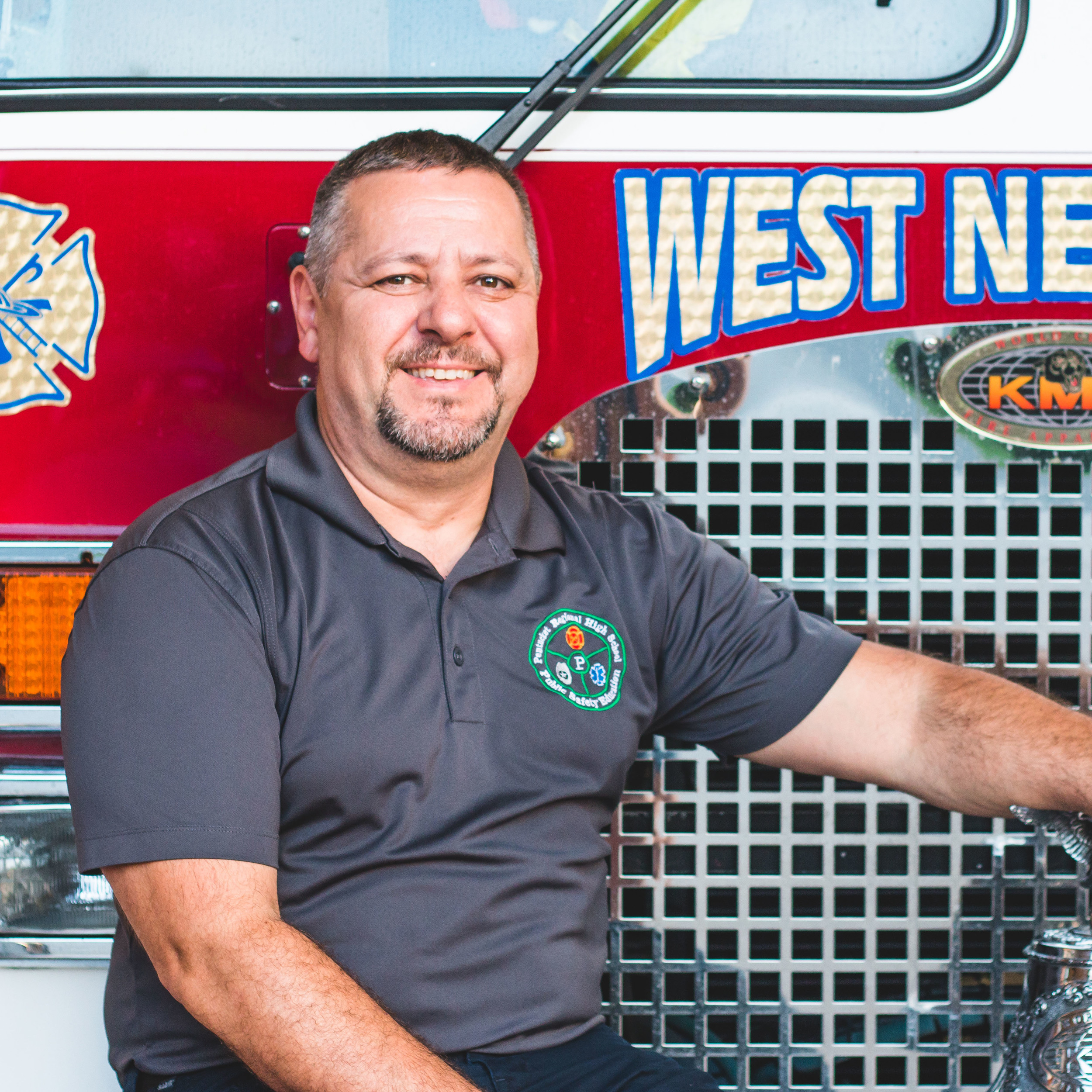 DAVE EVANS, VICE PRINCIPAL AT PENTUCKET REGIONAL, HAS DEDICATED HIS LIFE TO SERVING THE COMMUNITY THROUGH PUBLIC SAFTEY