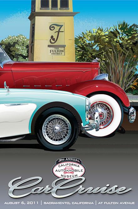 2011 California Auto Museum Car Cruise
