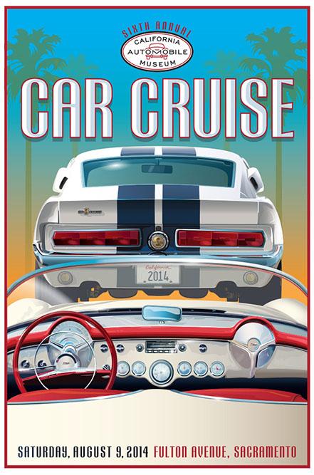 2014 California Auto Museum Car Cruise