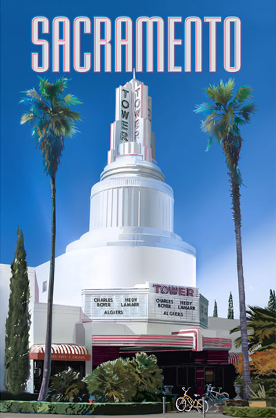 Tower Theatre, Sacramento, California
