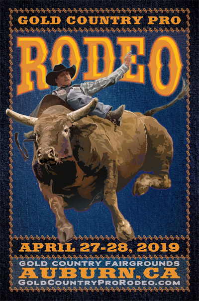 2019 Gold Country Pro Rodeo, Auburn, CA