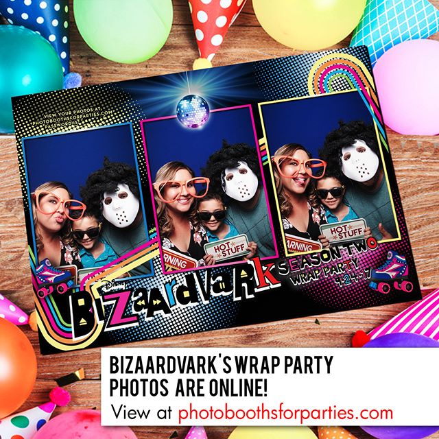 Bizaardvark's Wrap Party photos are online! Click our profile page to get our website link or enter www.photoboothsforparties.com in your browser. #Bizaardvark #photoboothsforparties #photobooths4parties #photobooth #photoboothla #photoboothoc #bestphotobooth #photoboothprints #laphotobooth #laphotoboothrentals #orangecountyphotobooth #weddingphotobooth