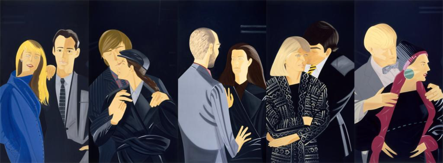 Pas de Deux (1983). Oil on Canvas, 132x360 inches. Colby College Museum of Art, Waterville, ME.