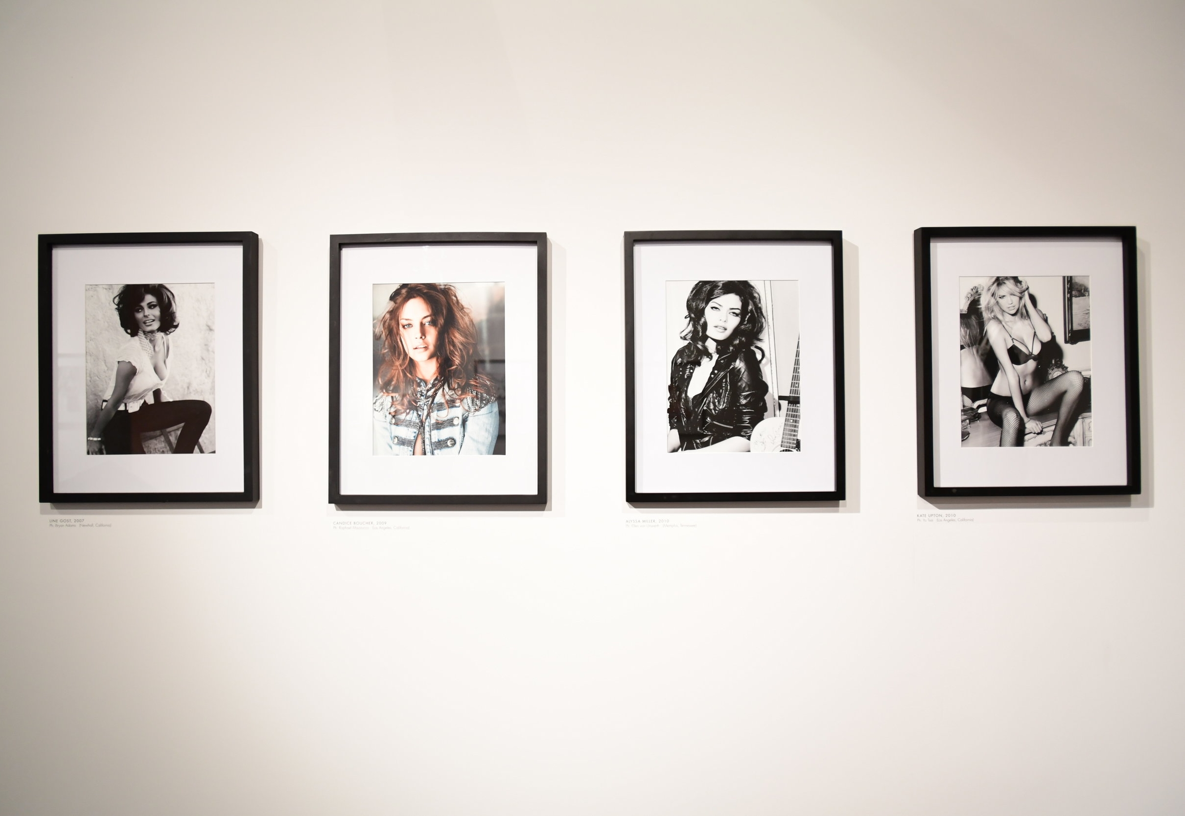 Installation shot, GUESS: 35 Years & Still Dreaming. Copyright FIDM. Image courtesy FIDM.