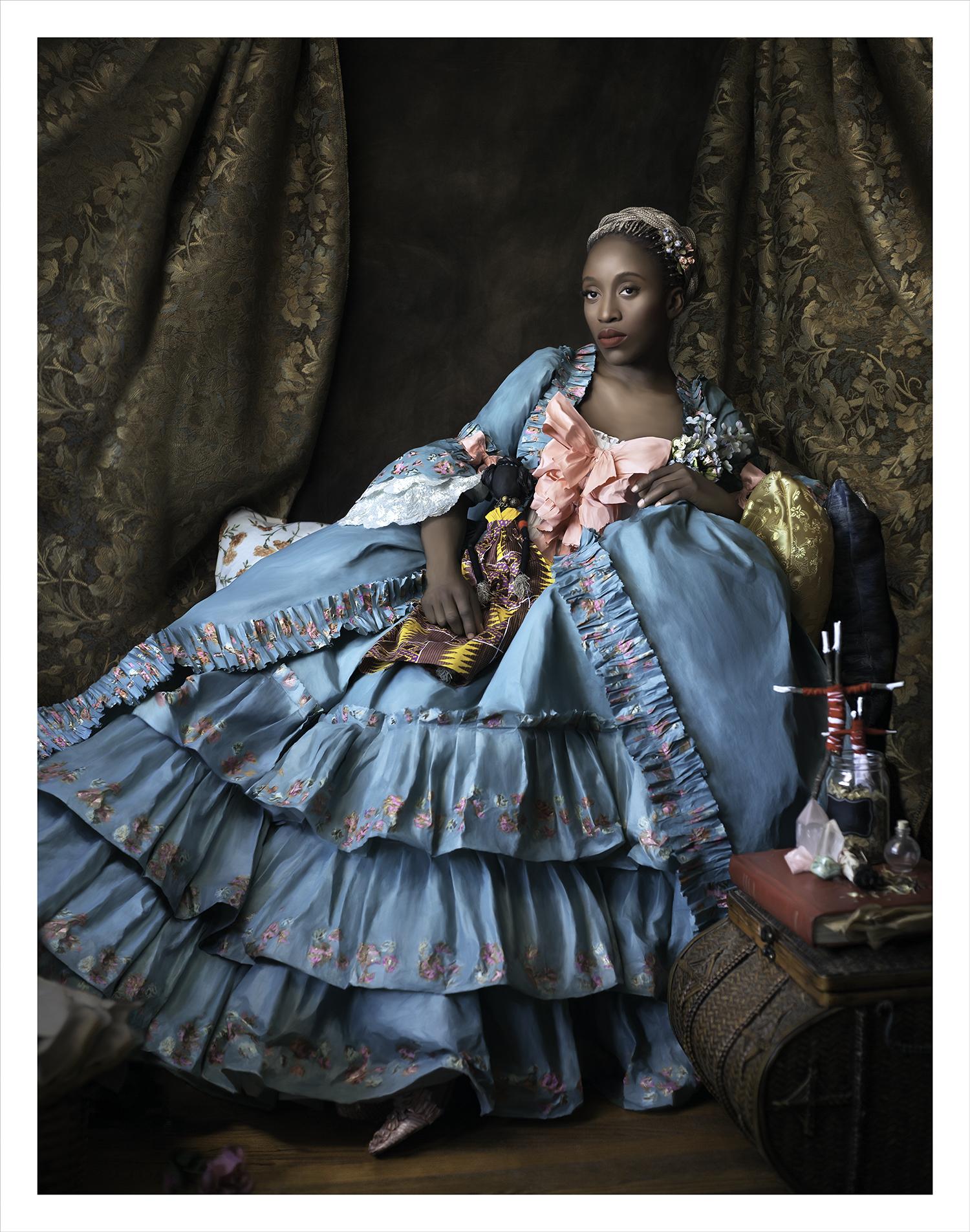 Marie Antoinette is Dead . Image courtesy Fabiola Jean-Louis.