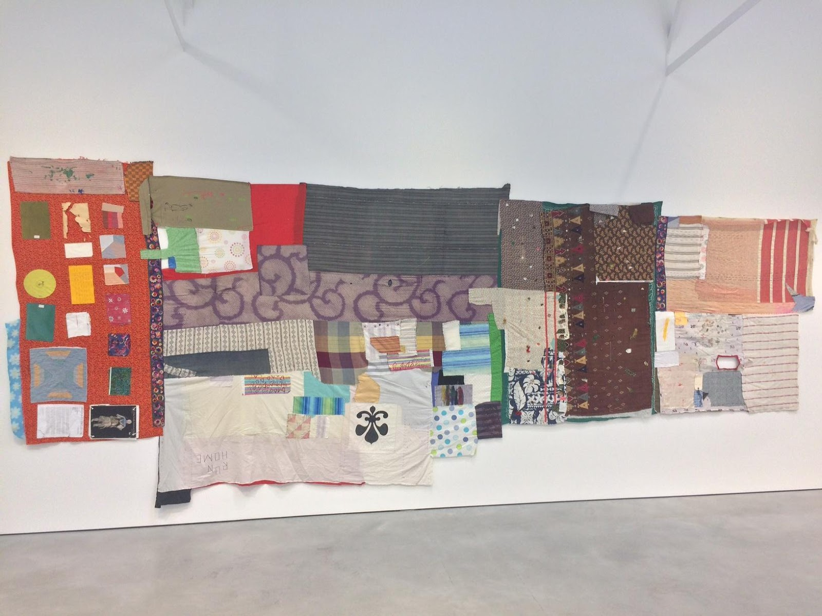 Susan Cianciolo,  Tapestry 1  (2010-17) on view at Modern Art, London. Photo courtesy the author.
