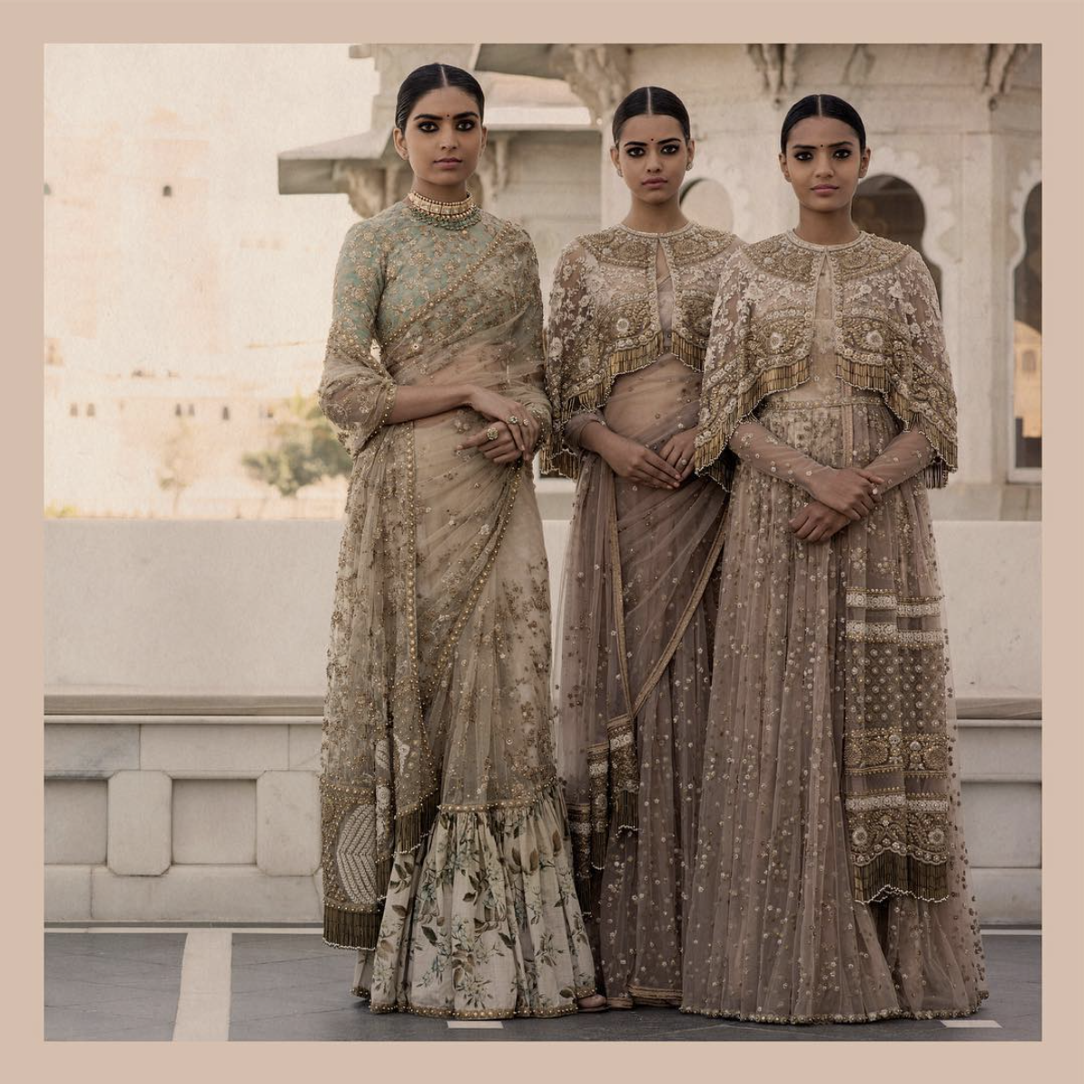 From Sabyasachi Mukherjee's  Instagram : The Udaipur Collection