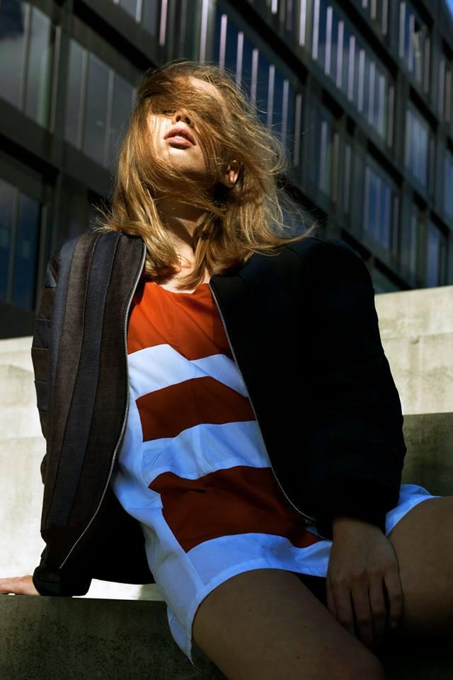 Photo by Denise Borré featuring model Veronika Kocarikova. Courtesy the authors.