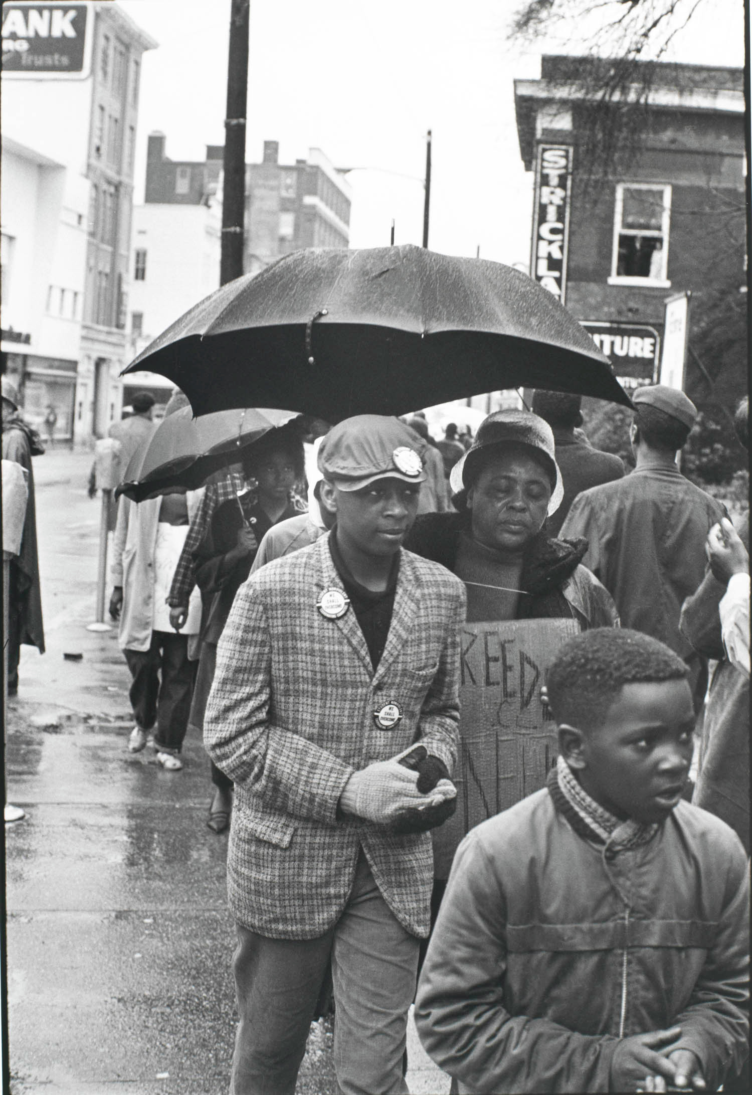 Fig. 3. Danny Lyon, Fannie Lou Hamer, Hattiesburg, Mississippi, 1964, Gelatin silver print. Image copyright Danny Lyon.