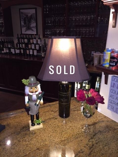 Wine Lamp Audesirk $75 - SOLD
